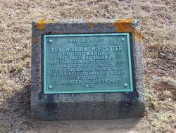 William Worcester's gravesite