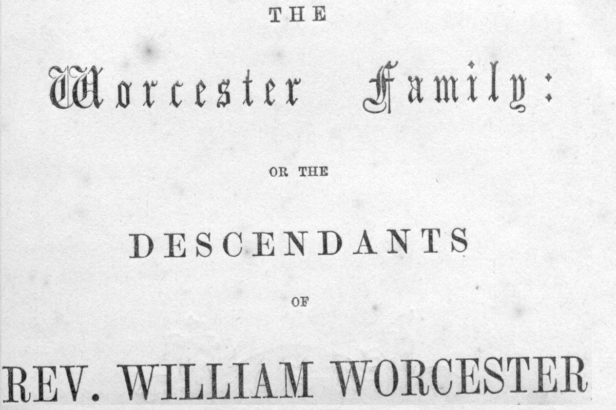 The worcester family introduction bookg 128286 bytes aiddatafo Images